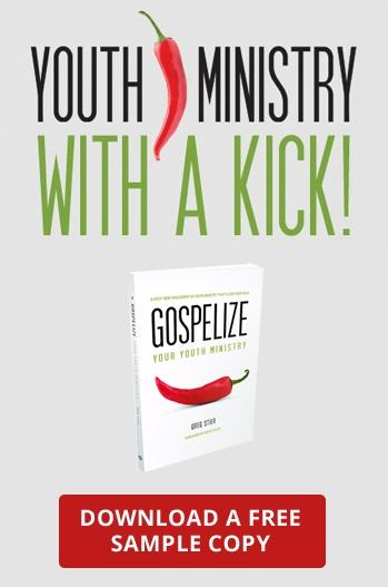 Youth Ministry with a KICK! Download a free sample copy of Gospelize.